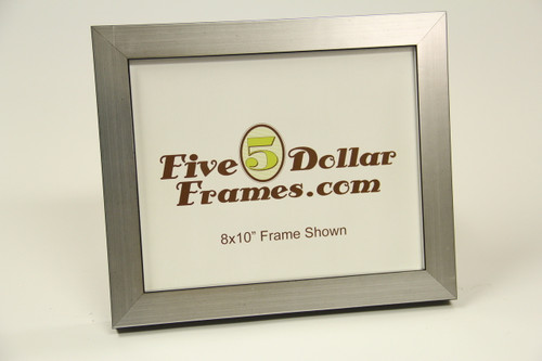 "80802 1.25"" Silver Contemporary Shadow Box Picture Frame"