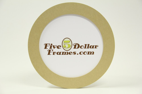 "6"" Round Composite Picture Frame"