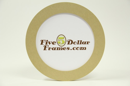 "12 RND 12"" Round Composite Picture Frame"
