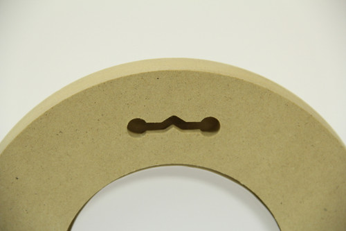 "12"" Round Composite Picture Frame"