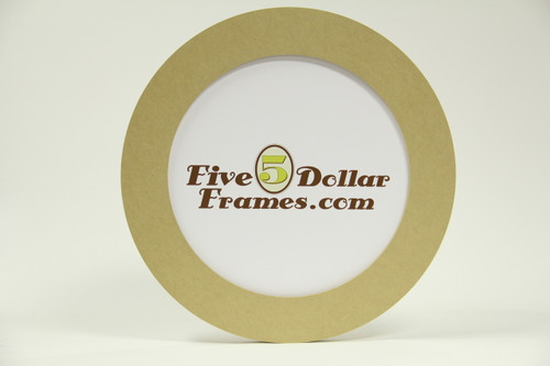 "14"" Composite Round Picture Frame"