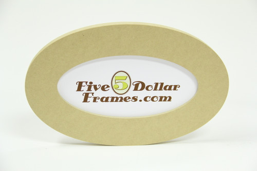 5x10 Oval Composite Picture Frame