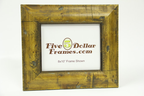 "1525-60H 3"" Honey Burl Natural Slope Picture Frame"