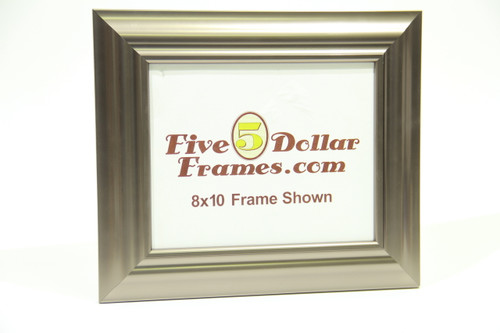 """800-495 2.25"""" Silver Contemporary Picture Frame"""