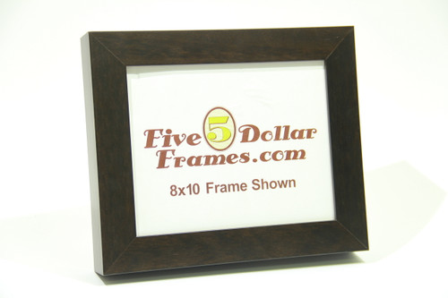"12054 1.5"" Cappucino Shadowbox/Canvas Picture Frame"