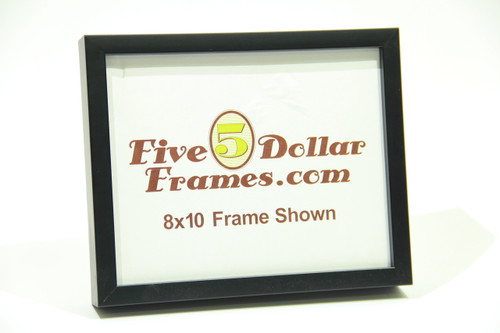 "725-29 .625"" Satin Black Shadowbox/Canvas Picture Frame"