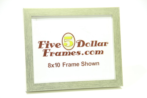 "432-33 1"" Satin Silver Brushed Picture Frame"