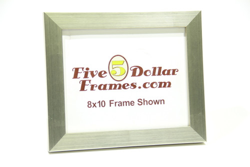 "10668 1.25"" Bright Silver Picture Frame"