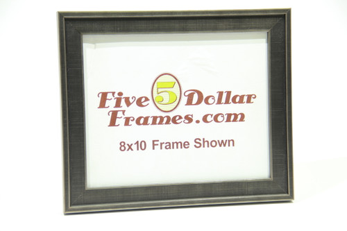 "10232 1.125"" Silver Metropolitan Step Picture Frame"