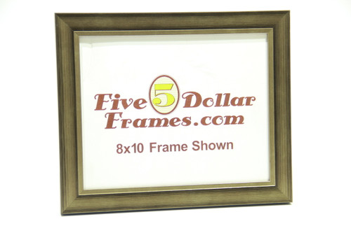 "10677 1"" Warm Silver Contemporary Picture Frame"