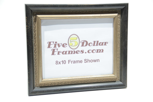 "1585-60 2"" Decorative Silver Scroll Picture Frame"