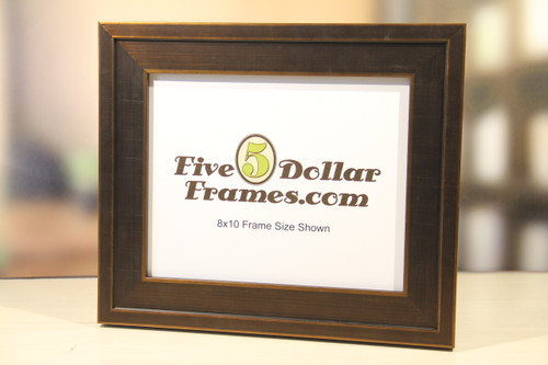 Modern Brushed Bronze Picture Frame