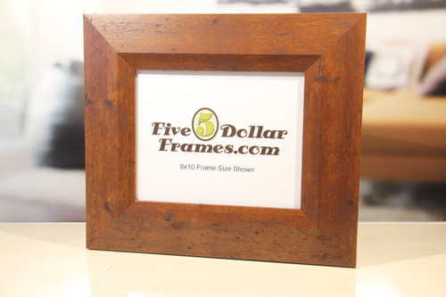 Sloped Cherry FarmHouse Picture Frame