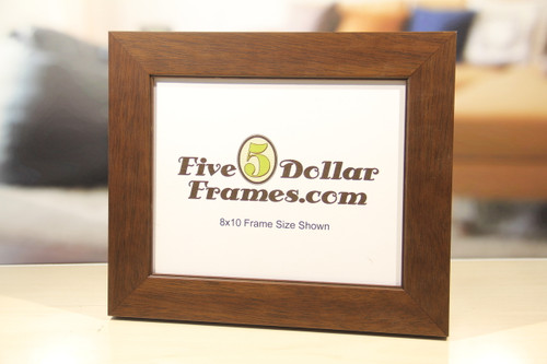 Walnut Flat Face Picture Frame