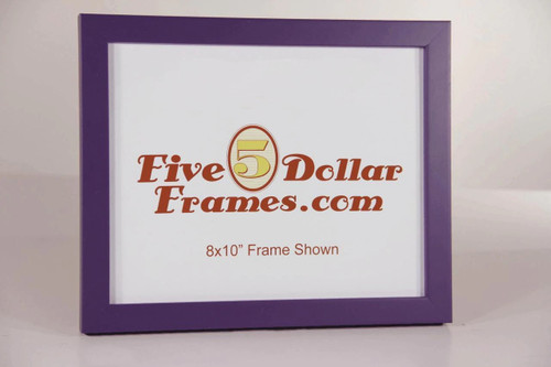 Purple Contemporary Vivid Color Picture Frame