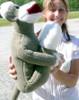 American Made Big Plush Sock Monkey 28 Inches Stuffed Animal Made in USA