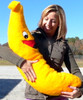 Giant Stuffed Banana is 3 Feet Tall and Always Smiling - Made in America