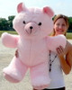 Giant Pink Teddy Bear 36 Inches Soft 3 Foot Teddybear Made in USA
