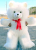 Giant White Teddy Bear 42 inch Soft Teddybear Made in USA America