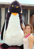 American Made Giant 5 Foot Stuffed Penguin Huge Soft Oversized Plush Animal