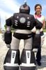 Giant Stuffed Robot 5 Feet Tall Enormous Soft Black Robo Plush 60 Inches