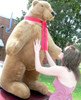 American Made Giant Brown Bear 60 Inches Soft Big Plush Bear Made in USA