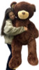 Huge stuffed brown teddy bear 5 feet tall
