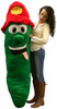 Get Out of a Pickle with this Giant Stuffed Pickle 66 Inch Huge Five and a Half Feet Tall
