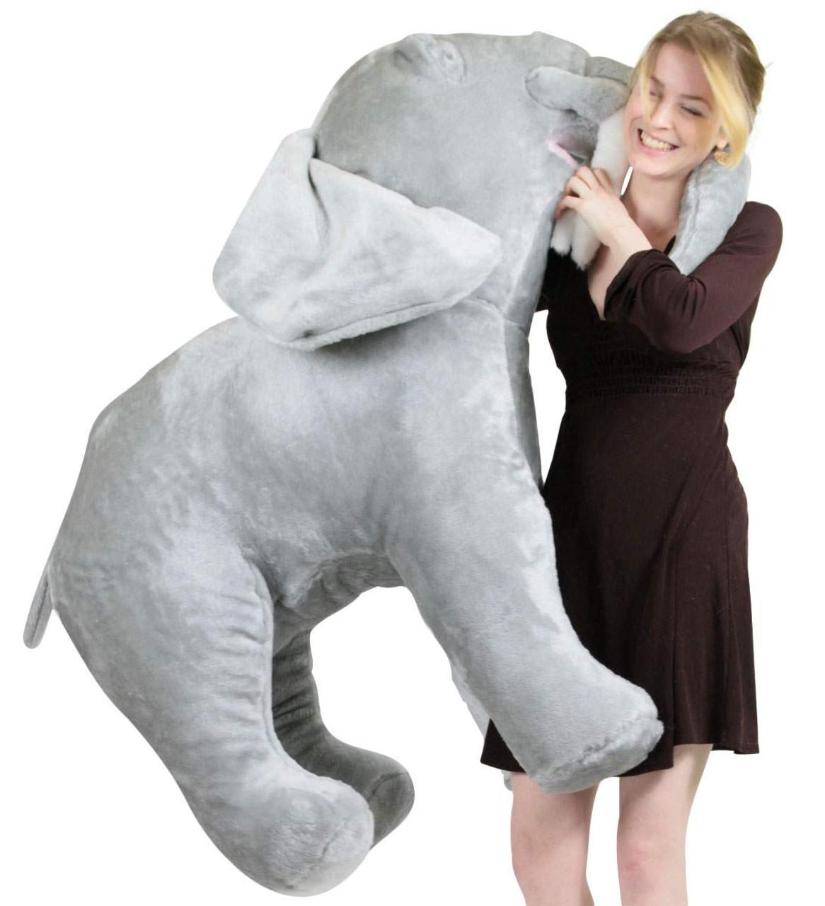 American Made Giant Stuffed Elephant 48 Inch Soft Big Plush