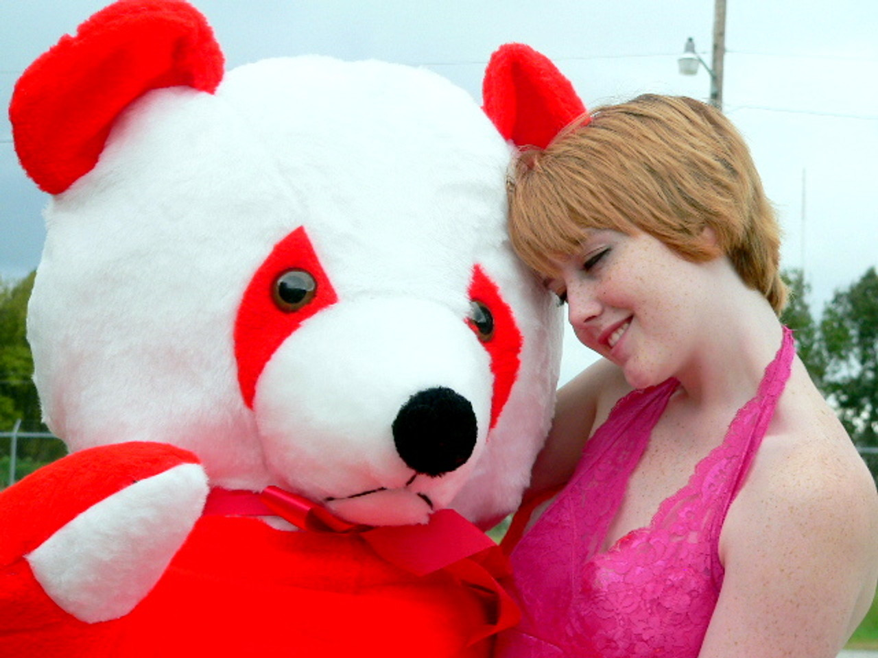 American Made 6 Foot Giant Stuffed Red Panda 72 Inch Soft Bear Made