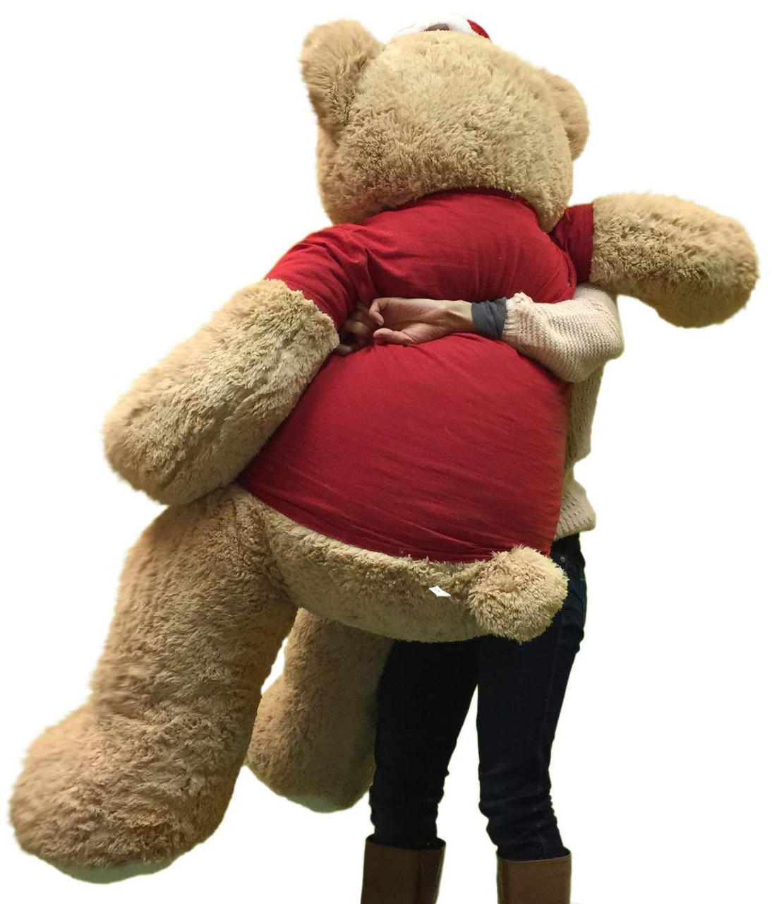 9369b2b68cc11 ... 5 Foot Giant Xmas Teddy Bear Soft 60 Inch