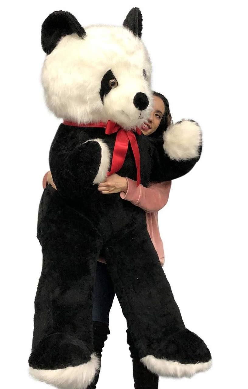 Big Plush 6 Foot Stuffed Panda Bear Giant Six Feet Tall Teddy Bear