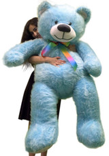 Blue Color Big Stuffed Animals