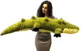 Big Stuffed Alligators and Crocodiles