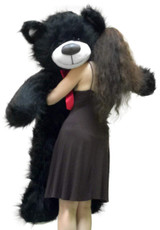 Black Color Big Stuffed Animals