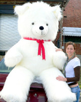 White Color Big Stuffed Animals