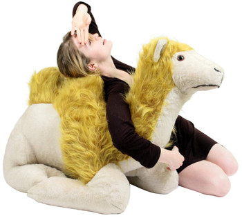 American Made 3 Foot Giant Stuffed Camel 36 Inch Soft Jumbo Desert Stuffed Animal