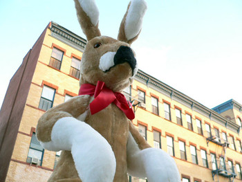 American Made Giant Stuffed Kangaroo 42 Inches Tall Big Plush Animal Soft Made in the USA America