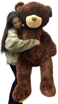 Huge stuffed brown teddy bear 5 feet tall