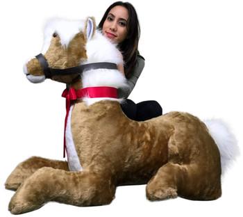 Animals Big Stuffed Horses And Ponies Big Plush Personalized