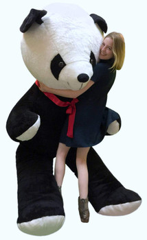 Giant 8 Foot Stuffed Panda Bear Soft 96 Inch Teddybear Made in USA