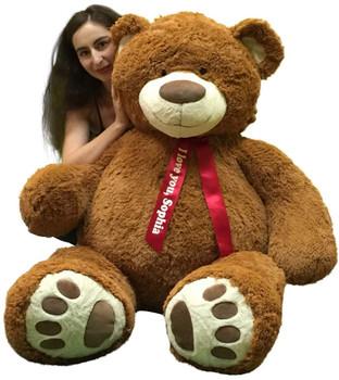 Personalized giant teddy bear