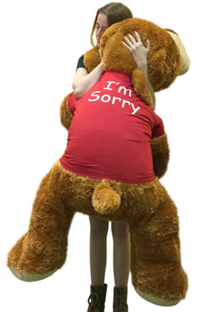 Occasions - I'm Sorry Big Stuffed Animals - Big Plush Personalized