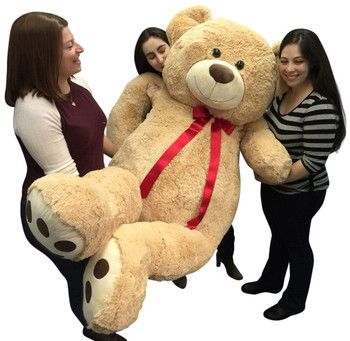 6 Feet Tall teddy bear from Big Plush