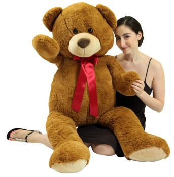 4ft teddy bear brown color