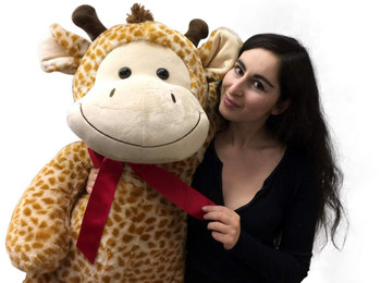 4 Foot Giant Stuffed Giraffe 48 Inch Soft Big Plush Stuffed Animal