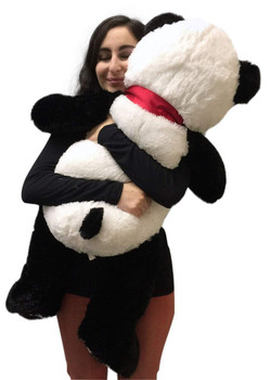 Big Stuffed Panda 36 Inches Soft Large 3 Foot Big Plush Animal