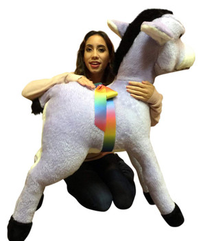 Animals Big Stuffed Horses And Ponies Big Plush Personalized