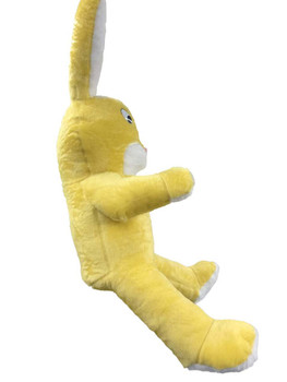 American Made Giant Stuffed Yellow Bunny 60 Inch Soft Big Plush Rabbit 5 Foot Rabbit Made in USA