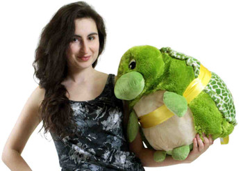 Big Plush Turtle Smush Ball Soft 24 Inches Soft Stuffed Animal Plushie